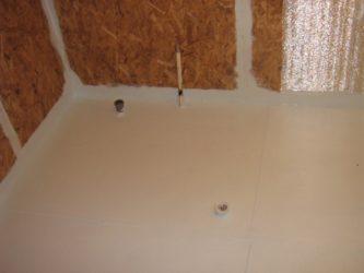 Гидроизоляция ОСБ в ванной комнате
