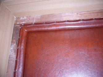 Как утеплить входную деревянную дверь в квартире?