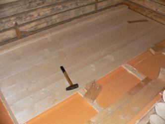 Как правильно утеплить пеноплексом деревянный пол?