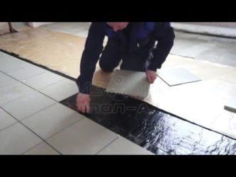 Плиточный клей на гидроизоляцию
