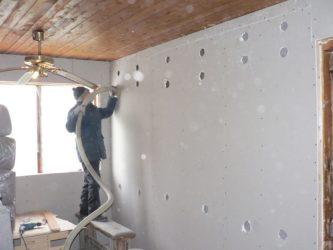 Чем утеплить стены дома изнутри под гипсокартон?