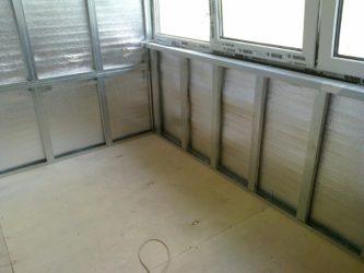 Как утеплить пластиковый балкон изнутри своими руками?