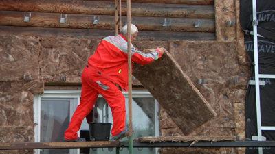 Как утеплить и оштукатурить деревянный дом снаружи?