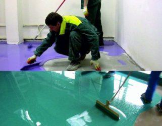 Как самостоятельно сделать наливной пол?
