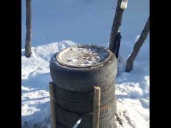 Чем утеплить колонку на улице на зиму?