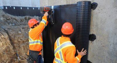 Защита конструкций гидроизоляция фундаментов