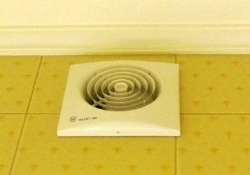 Электрическая вентиляция в ванной