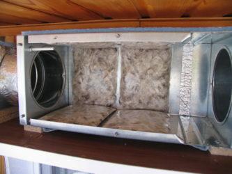 Шумогаситель для вентиляции своими руками