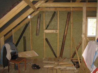 Как утеплить фронтон деревянного дома?