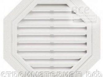 Фронтонные решетки для вентиляции чердачных помещений