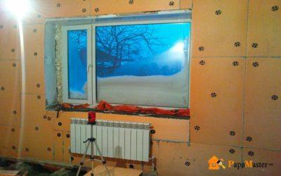 Как утеплить промерзающую стену в квартире изнутри?