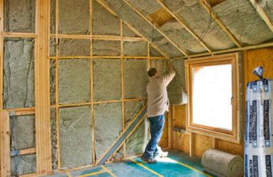 Можно ли утеплить дом изнутри и чем?