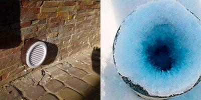 Чем утеплить отдушины в фундаменте на зиму?