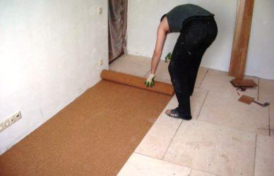 Что подложить под линолеум на бетонный пол?